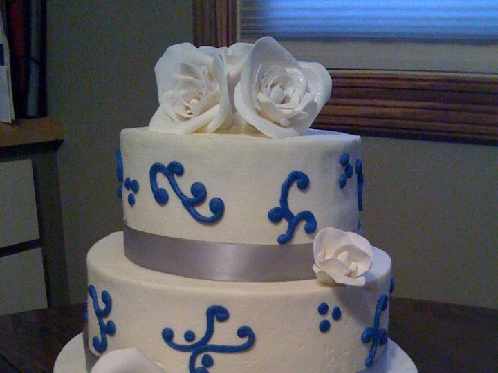 Tmx 1352470429278 IphonepicsNov09170 Eau Claire wedding cake