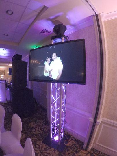 HDTV at reception