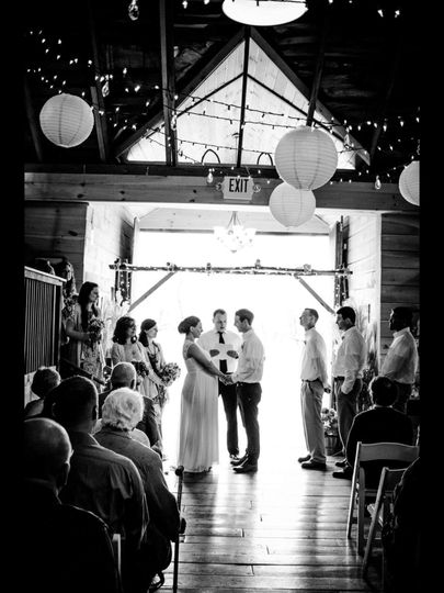 Indoor ceremony site