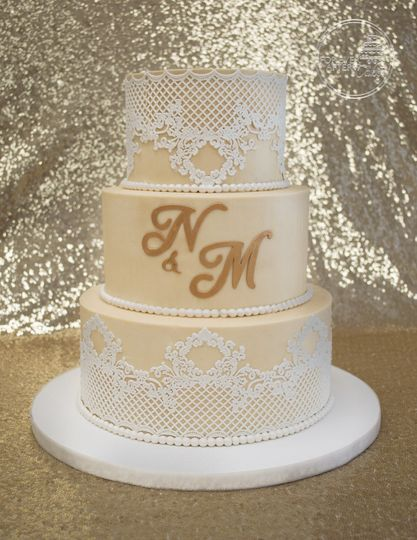 Forever After Cakes Wedding Cake Lake Jackson Tx Weddingwire