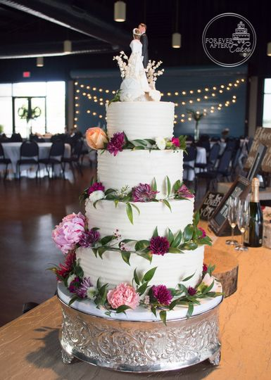 Forever After Cakes - Wedding Cake - Lake Jackson, TX - WeddingWire