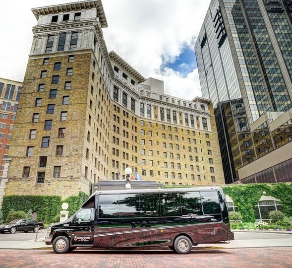 20 passenger luxury Coach