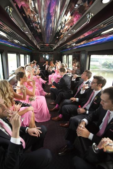 Large wedding parties