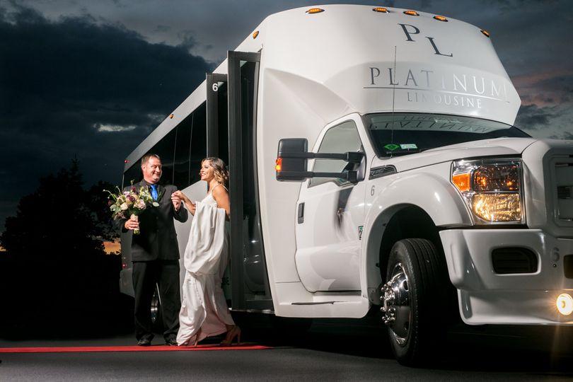 29 passenger limo coach