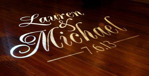 Dance-floor Name Projection