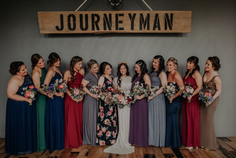 Bridesmaids at Journeyman