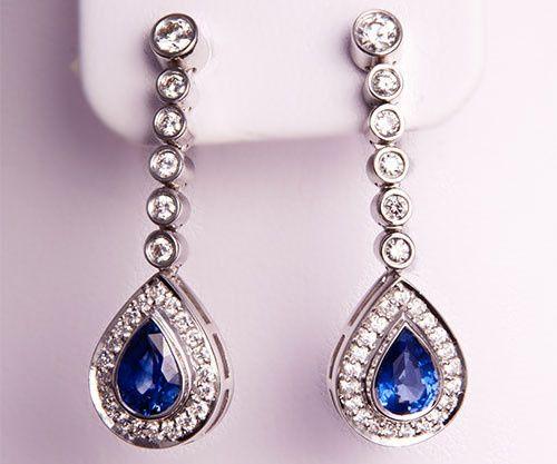 Tmx 1425833062781 Sapphiredropear Lagrangeville wedding jewelry