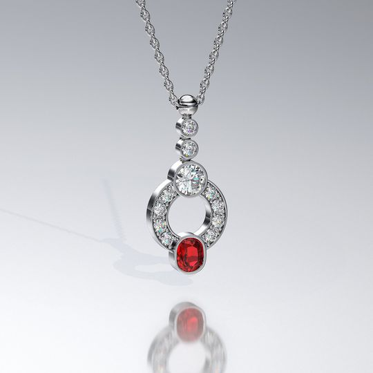 custom pendant set 12 1 of 1