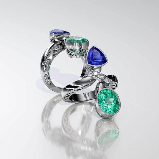 custom ring 2 1 0f 1