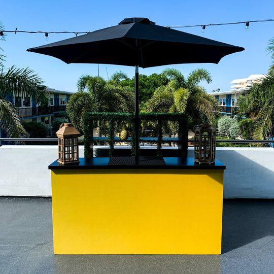 Yellow Velvet Bar