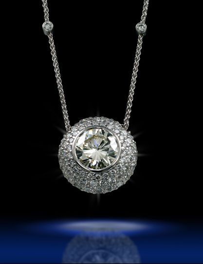 diamond pendant gorn 5341