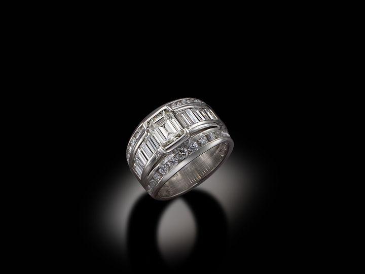 Tmx 1398978493779 Plat Diamond Rin West Hartford wedding jewelry