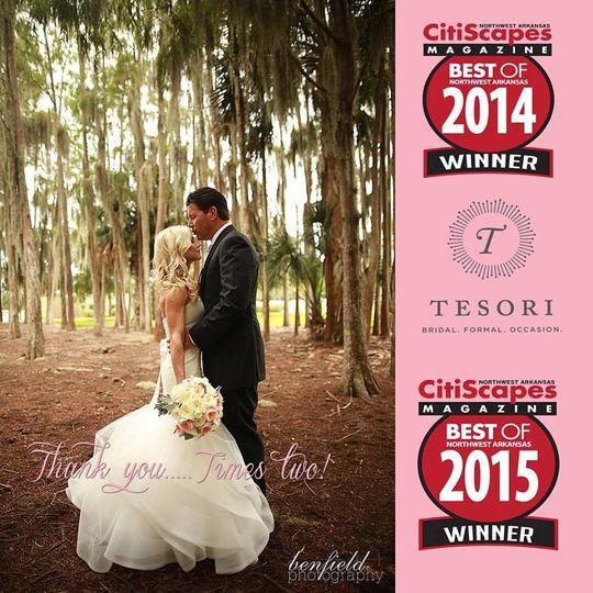 Tesori - Dress & Attire - Fayetteville, AR - WeddingWire