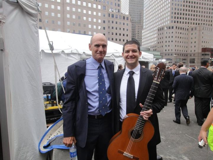 With James Taylor in NYC