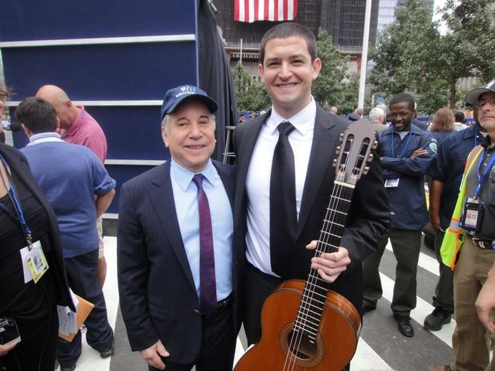 With Paul Simon in NYC