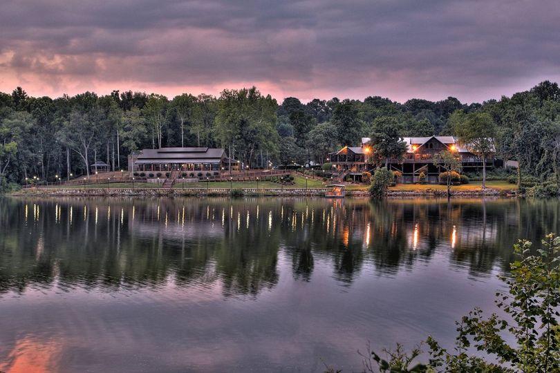 Pavilion Rest Sunset