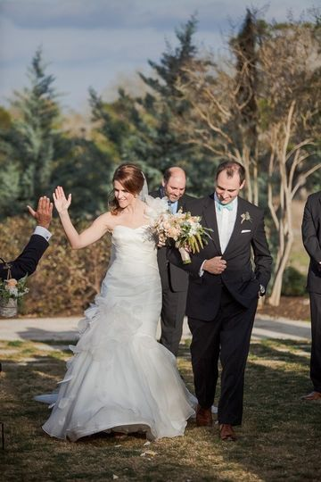 bride and da