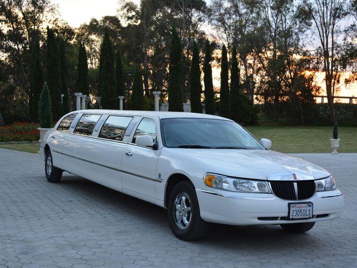 Tmx 1422558607353 10pass White Wedding Limo Stockton Lodi wedding transportation