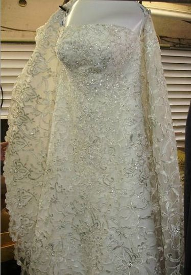 Society cleaners dress attire coral gables fl for Do dry cleaners steam wedding dresses