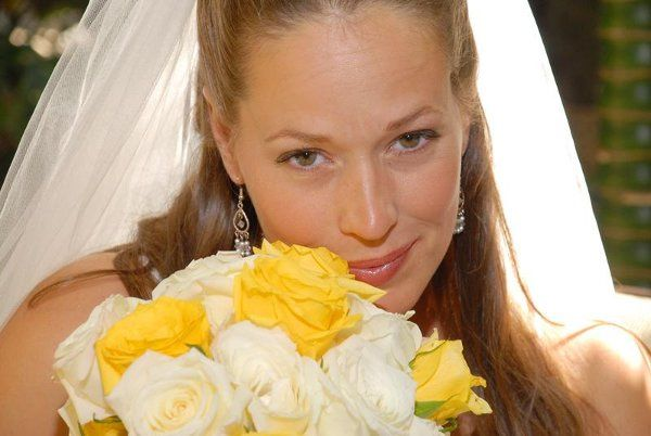 Beautiful Close - up bride