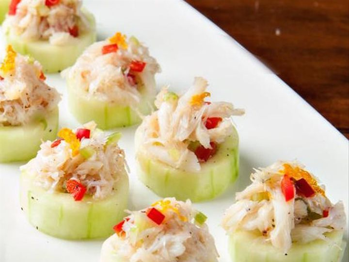 Tmx 1430413623239 Citrus Crab Salad In A Cucumber Cup Birmingham, MI wedding catering