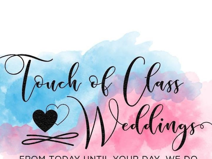 Tmx 1500072285602 Touch Of Class Blue Pink Logo Germantown, WI wedding officiant