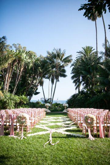 Four Seasons Santa Barbara Biltmore Wedding