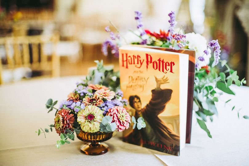 Harry Potter center piece