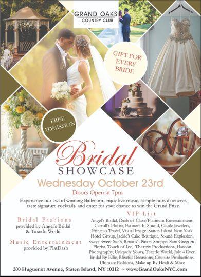 Bridal Showcase Flyer