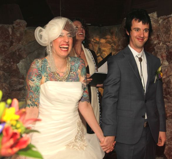 Intimate Ceremony in a Salt Cave: Donna and Mark