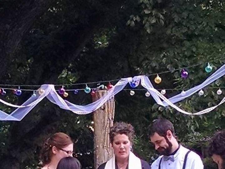 Tmx 1524228133 10b2a4e8817bb2ac 1442608615235 Jamie  Joshua With Ava  Rowan Flushing, New York wedding officiant