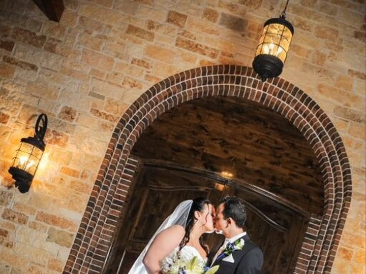 Tmx 1433863003456 Couple Kissing By Chapel Door Cypress, TX wedding venue