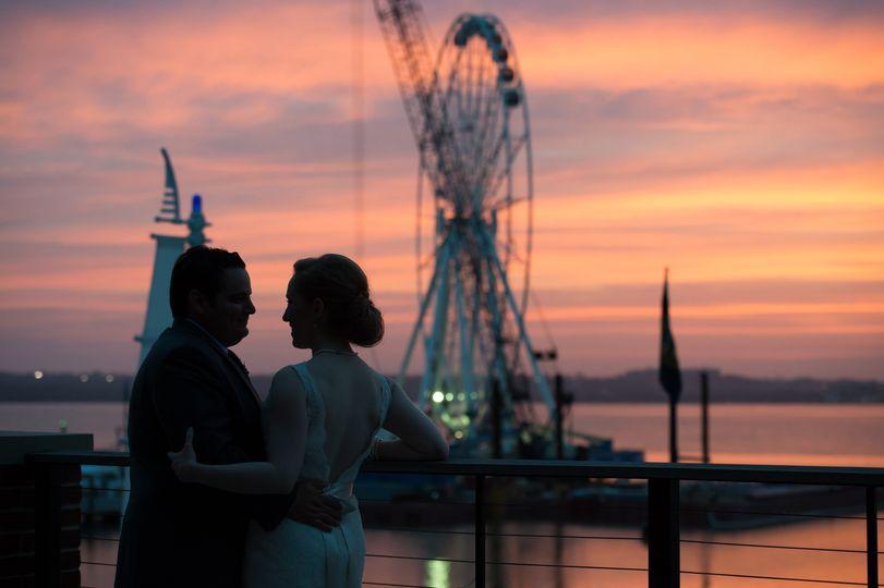 the sunset room national harbor wedding 31
