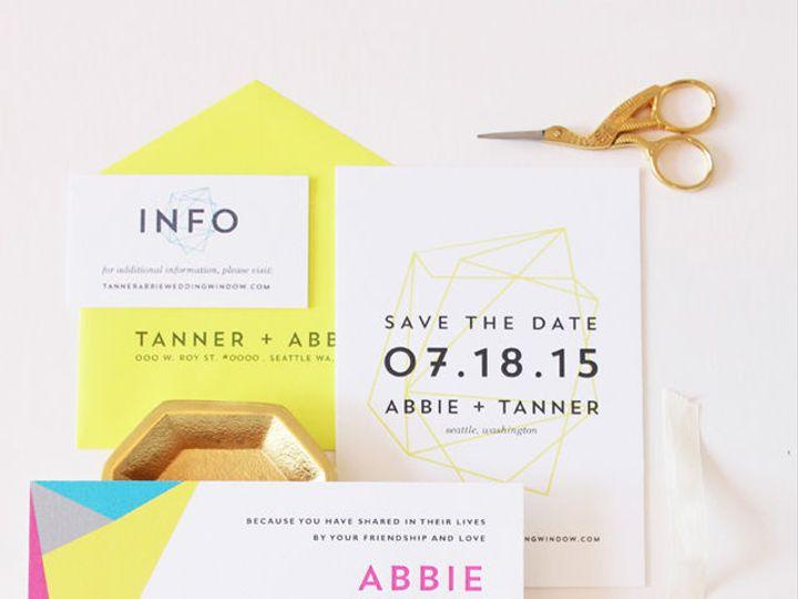 Tmx 1522963643 F589fe1a95d99dab 1522963642 7e7be1da31f82ad1 1522963641800 7 Tanner1 Seattle, WA wedding invitation