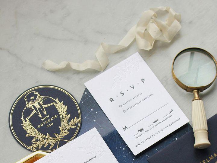 Tmx 1522963968 Fd709018a2dd9003 1522963967 C326121f2bba5c7d 1522963965240 3 Dahlia Press Invit Seattle, WA wedding invitation