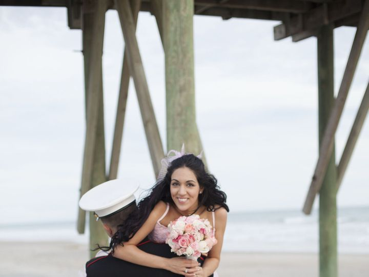 Tmx 1392258797946 Claire Nate Wedding Couples 001 Topsail Beach, NC wedding officiant