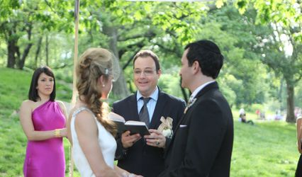 Wedding Rabbi Shai Specht Sandler
