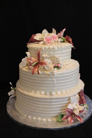 Cakes By Design Edible Art Llc Wedding Cake North Andover Ma