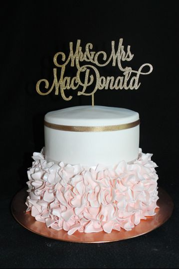 Cakes By Design Edible Art LLC. - Wedding Cake - North ...
