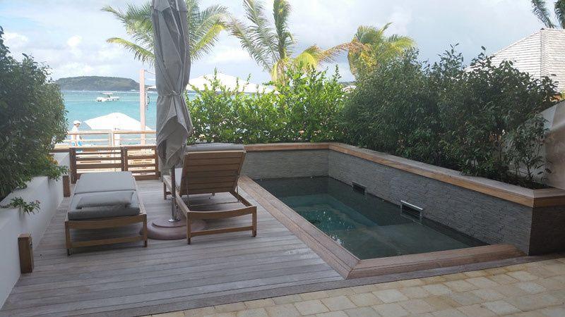 le barth room plunge pool