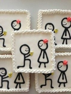 Sweet and delicious, just like the day you got married.  All custom cookies are baked fresh for you...