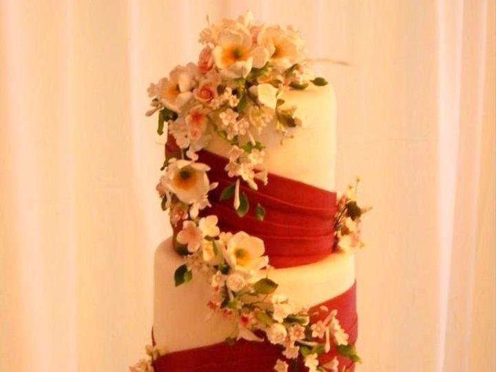 Tmx 1426555818816 Red Wedding West Orange, NJ wedding cake