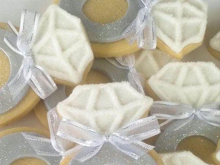 Tmx 1426607587783 2014 Ring Sugar Wedding Cookies Diamond Wedding Co West Orange, NJ wedding cake