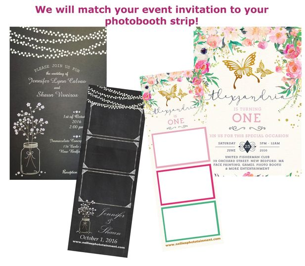 We can match your invitations