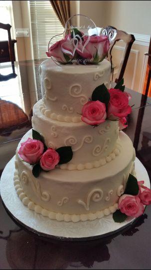 Ivy's Wedding Cake - Manassas, VA