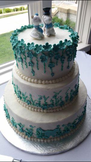 laura and matt wedding cake 1 42515