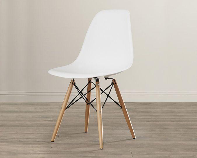wayshell white chair