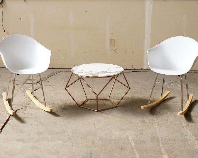 ta rocking chair lounge rentals