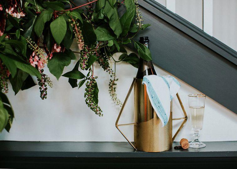 portland wedding champagne toast rental 108