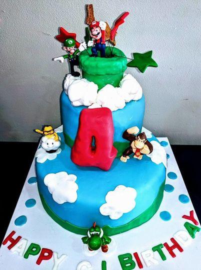 CJ Super Mario dream cake